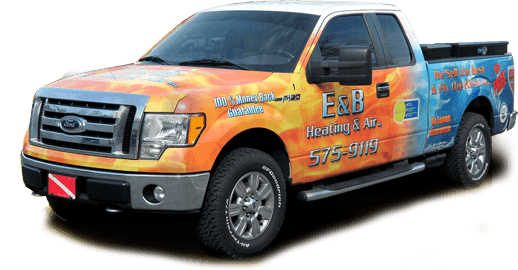 E&B Heating & Air Tallahassee Truck